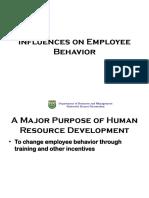 Lecture 2 Employee Behavior
