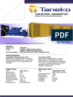 TNK1845P Taneko Industrial Generator (Tnk Jkt)