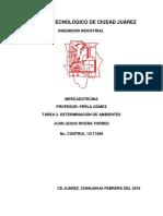 Tarea 2. Determinacion de Ambientes Juan Jesus Rivera
