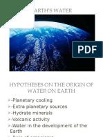 Earths Water