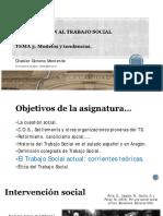 INTRODUCCIÓN AL TRABAJO SOCIAL Tema 3 Chabier Gimeno