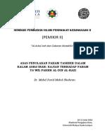 Farid_Shahran_ASAS PENOLAKAN FAHAM TASHBIH DALAM KALAM ASHA'IRAH KAJIAN TERHADAP FAHAM TA'WIL FAKHR AL-DIN AL-RAZI.pdf
