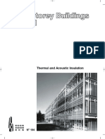 Multi storey building - Thermal and accoustic insulation