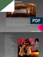Historia Teatro Venezolano Zoraida Ceballos