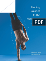 Finding Balance in the Handstand a Beginners Guide E-book Download