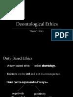 Kants Ethics