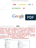Tutorial Google Docs