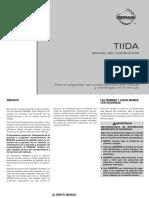 Manual Propietario Nissan Tiida