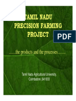 tamilnadu precision farming project