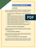 POLITICA DE GESTIÓN, FODA, ALCANCE - PODEROSA.pdf