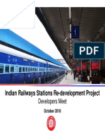 Indian Railways Stations Redevelopment Program
