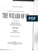 The Wizard of Oz RCS Libretto