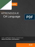 Aprendizaje C# Languaje