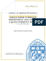 Indias Paper Currency DepartmentWorkingPaper