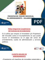 Presentacion Poliza Individual Arrendamiento-Aseguradora Solidaria