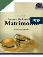 Preparacion Inmediata Al Matrimonio (Carpeta de Participante)Re