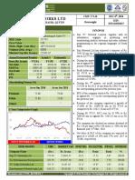 Sun Tv Network Ltd Detail Report
