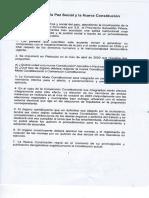 PDF Acuerdo Por La Paz Social y La Nueva Constitucion