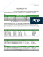 IPv 4 Subnetting Cheat Sheet