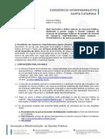 Edital 001 2019 Concurso Publico Do Cincatarina Sc