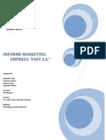 Informe Del Primer Avance de Marketing