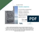 Cost Analysis of Nestle