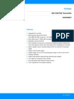 Atmel 4511 Car Access T5754 Datasheet