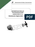 Laboratorio 05 - Modulación Digital