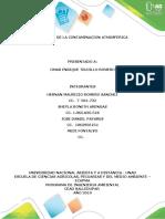 Informe Control de Contaminantes Atmosfericos Concretos El Dorado