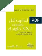 Gonzalez Faus Jose Ignacio - El Capital Contra El Siglo XXI