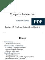 Lecture13-PipelinedProcessor
