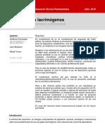 BCN - Uso de Gases Lacrimógenos