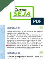 EXERCÍCIOS - LEI ORGÂNICA DE RIO DAS OSTRAS.pdf