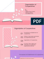 Organization of Cooperatives