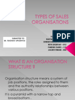 Ssfm -Types of Sales Org