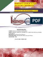 Sistema Directo Indirecto y Mixto de Instalaciones Sanitarias Convertido