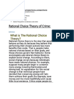 theory of crime