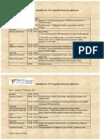 Star 2019-20 Program Schedule