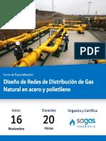 Redes de distribucion de Gas