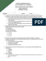Examen Economia Grado 11