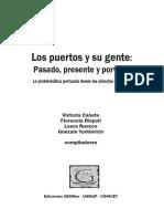 Los Puertos y Su Gente. Pasado Presente y Porvenir