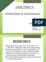 Bio Metrics by kuldeep