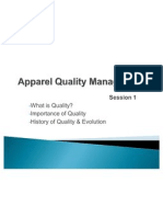 Apparel Quality Management Session 1
