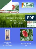 Ofertas do Boa Escolha no Diário Gaucho 22/11/2010