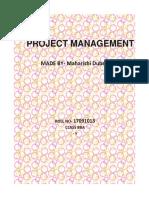 Project Management Maharishi