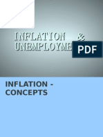 Inflation+&+Unemployment by KULDEEP Ghanghas