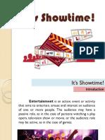 Lesson 4 - Its Showtime!