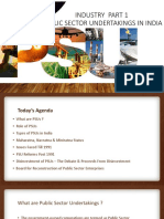 Industry Sector Part 1 - PSUs in India by Nihit Kishore Lecture 18