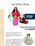 Lesson 6 - Shop Till You Drop