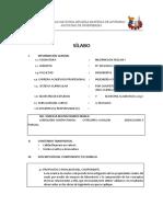 Silla bus Mecánica de Suelos I 2015 I